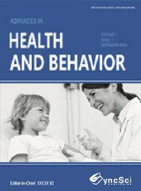 Advances in Health and Behavior